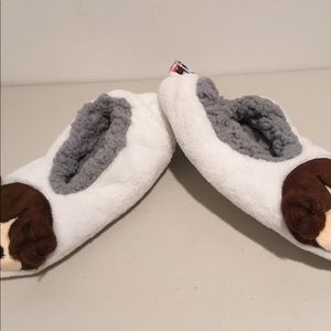Size M//L 8-10 STAR WARS Women/'s Princess Leia White Slipper Socks